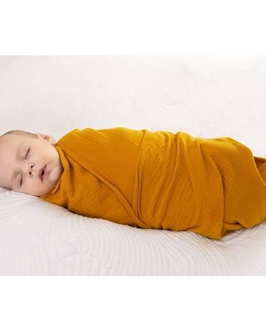 Babymatex Zavinovačka žltá, 80 x 120 cm