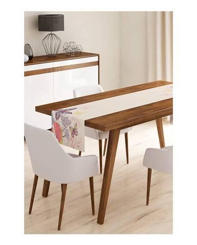 Behúň na stôl z mikrovlákna Minimalist Cushion Covers Butterflies, 45×145 cm