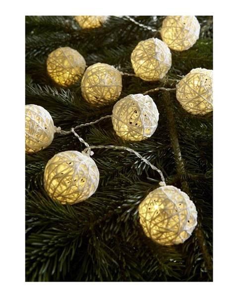 Markslöjd Transparentná svetelná LED reťaz Markslöjd Sia, 10 svetielok, dĺžka 180 cm
