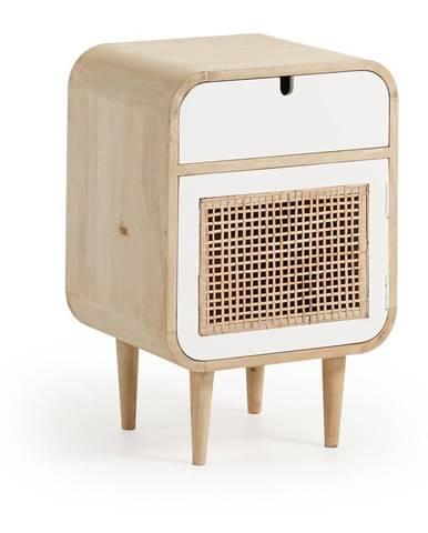 Nočný stolík z mangového dreva La Forma Gerald, 40×30cm