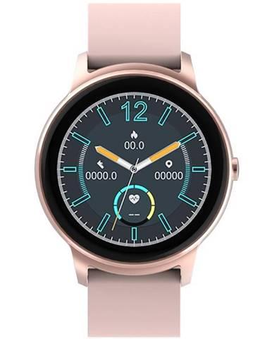 Inteligentné hodinky iGET FIT F60 ružové/zlaté