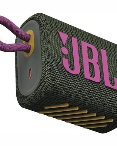 Prenosný reproduktor JBL GO3 zelen