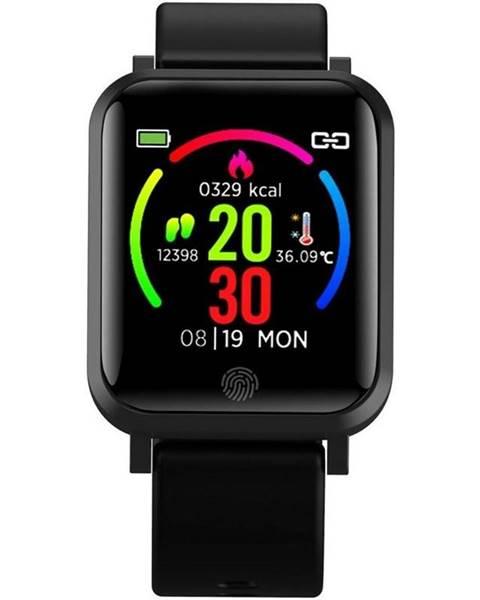 IMMAX Inteligentné hodinky Immax Temp Watch čierne