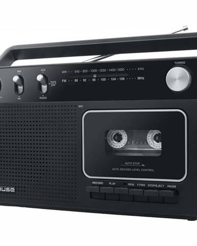 Rádiomagnetofón MM-152RC čierny