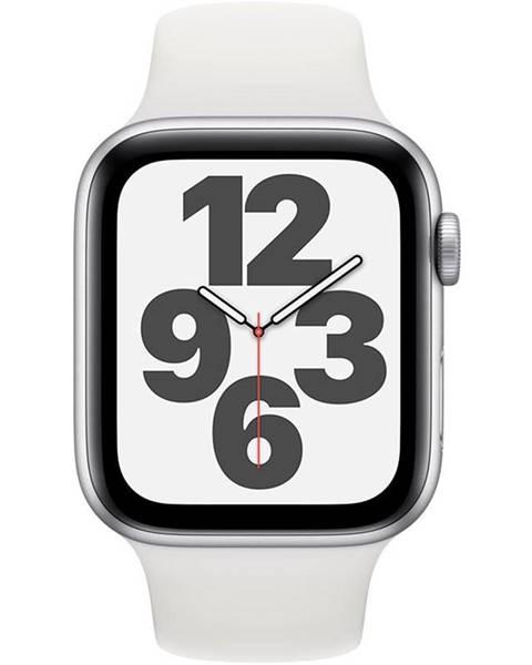 Apple Inteligentné hodinky Apple Watch SE GPS 44mm púzdro zo strieborného