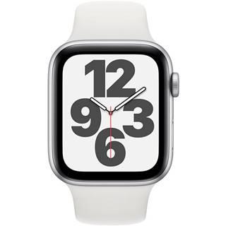 Inteligentné hodinky Apple Watch SE GPS 44mm púzdro zo strieborného
