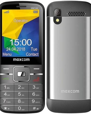 Mobilný telefón MaxCom MM144 sivý