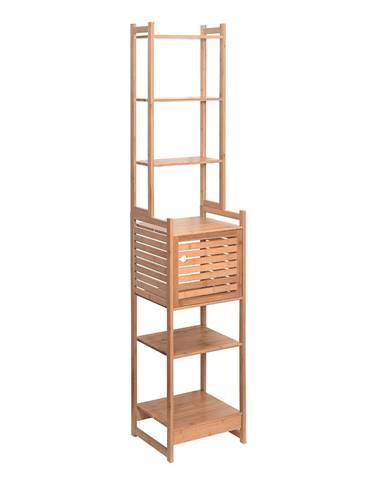 Regál prírodný bambus SELENE TYP 4