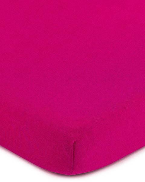 4Home 4Home Jersey prestieradlo ružová, 70 x 140 cm