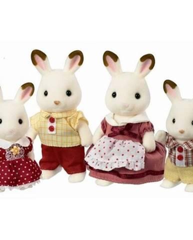 "Sylvanian families 4150 rodina ""Chocolate"" králikov"