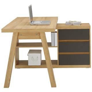 Rohový Písací Stôl Riga