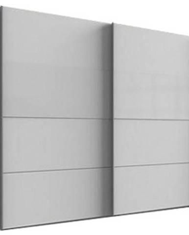 Skriňa S Posuvnými Dverami Bramfeld,biela/sklo Biele