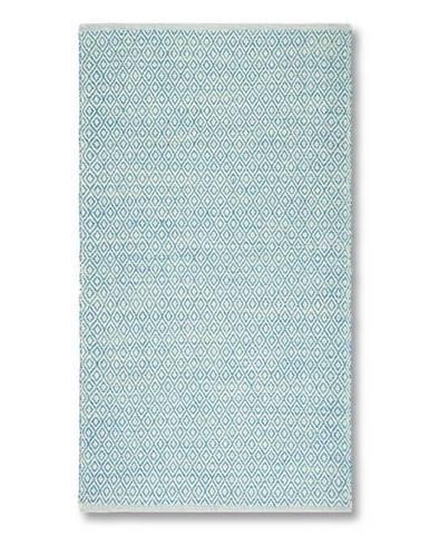Ručné Tkaný Koberec Carola 1, 60/120cm, Modrá