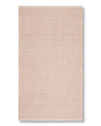 Ručné Tkaný Koberec Carola 2, 80/150, Ružová