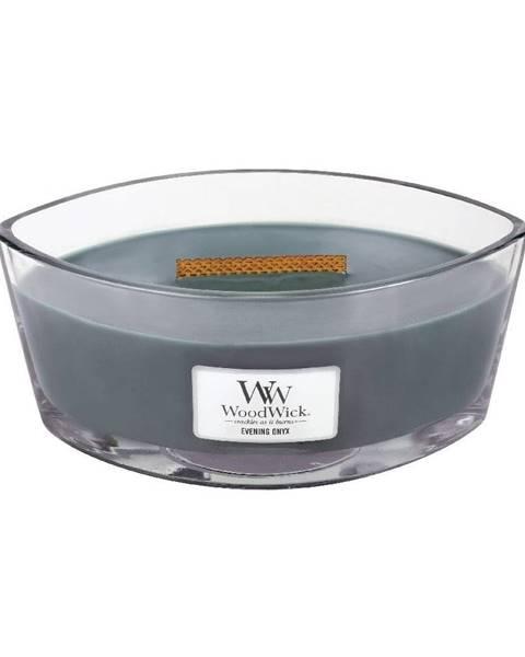 WoodWick Vonná sviečka Woodwick Večerný ónyx, 30 hodín horenia
