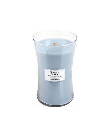 Sviečka s vôňou čistej bielizne, jazmínu a ruže WoodWick Čistá bielizeň, 110 hodín horenia