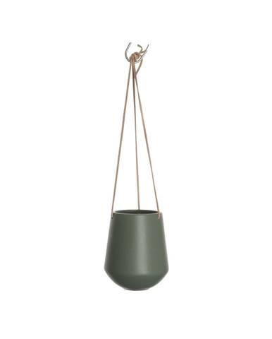 Zelený závesný kvetináč PT LIVING Skittle, ⌀13,5cm