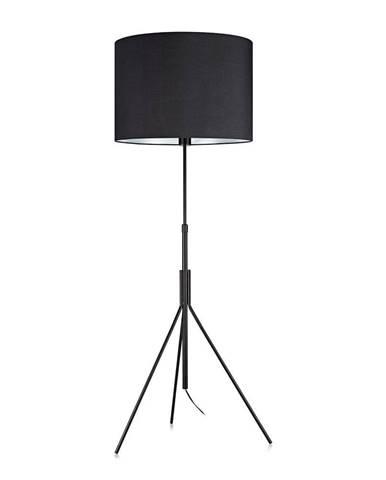 Čierna stojacia lampa Markslöjd Sling