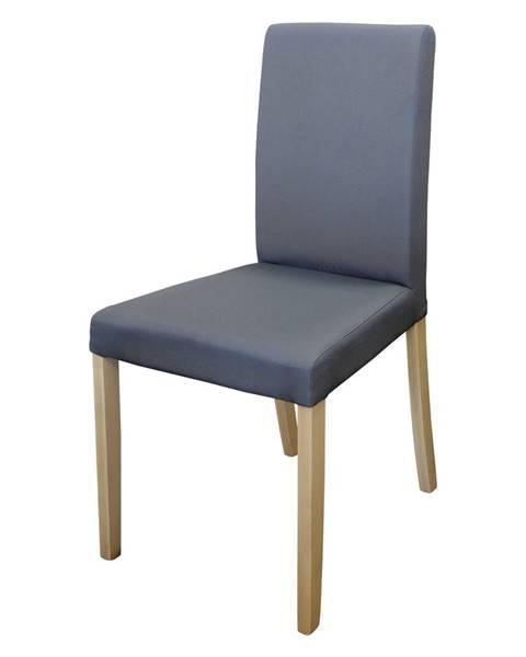 IDEA Nábytok Stolička PRIMA sivá/svetlé nohy