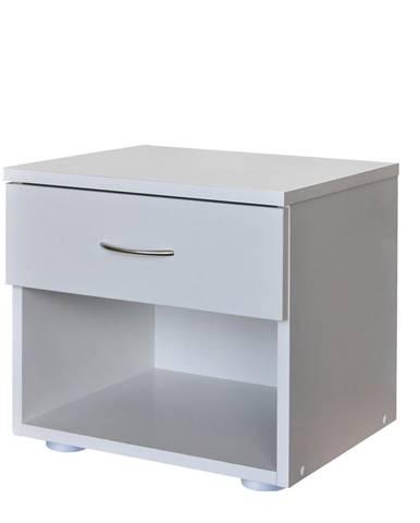 Nočný stolík 140 biela