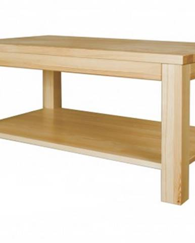 Konferenčný stolík - masív ST117   borovica S100