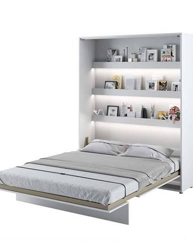 Dig-net nábytok Sklápacia posteľ BED CONCEPT BC-12p  Biely lesk
