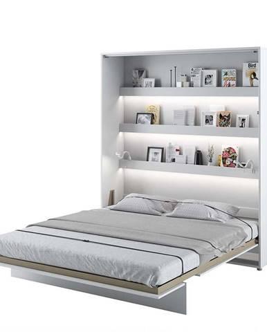 Dig-net nábytok Sklápacia posteľ BED CONCEPT BC-13p  Biely lesk