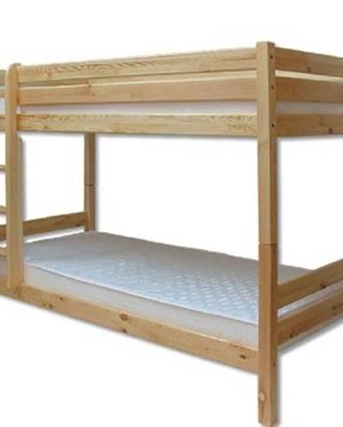 Poschodová posteľ - masív LK136 | borovica
