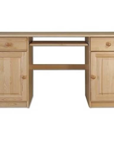 Písací stôl - masív BR101 | borovica