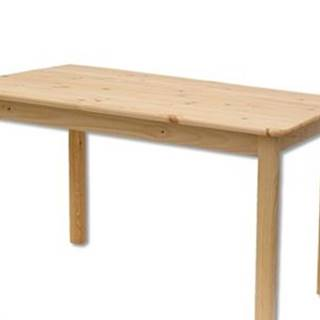 Drewmax Stôl - masív ST104 | 100x70cm borovica