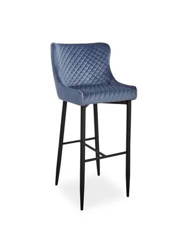 Signal Barová stolička COLIN B H-1 Velvet