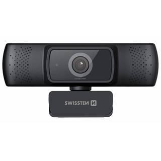 Webkamera Swissten Webcam FHD 1080P čierna
