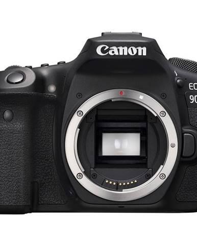 Digitálny fotoaparát Canon EOS 90D telo čierny