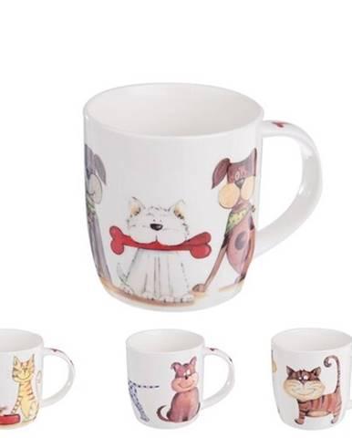 Orion Porcelánový hrnček Psy a Mačky 0,4 l