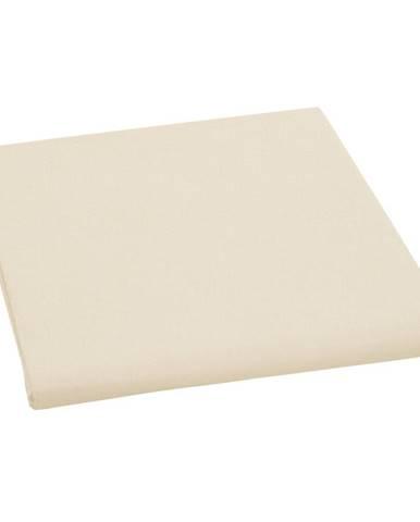 Bellatex plátené prestieradlo, béžová, 150 x 230 cm