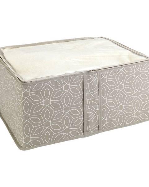 Wenko Béžový úložný box Wenko Balance, 40 x 30 x 20 cm