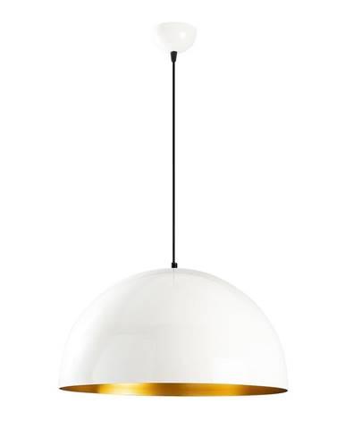 Biele stropné svietidlo Opviq lights Berceste, ø 50 cm