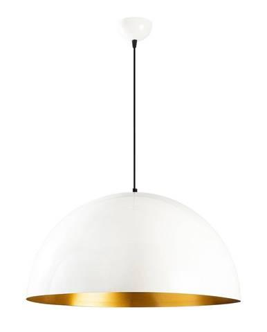 Biele stropné svietidlo Opviq lights Berceste, ø 60 cm