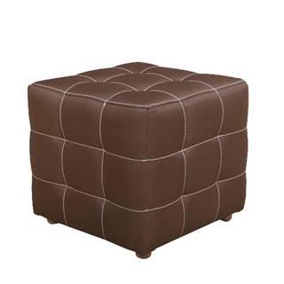 Taburet malý čokoládová KAZARA