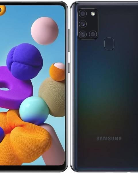 Samsung Mobilný telefón Samsung Galaxy A21s 128 GB čierny