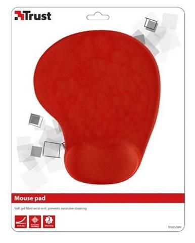 Podložka pod myš  Trust BigFoot Gel, 23 x 20 cm červená