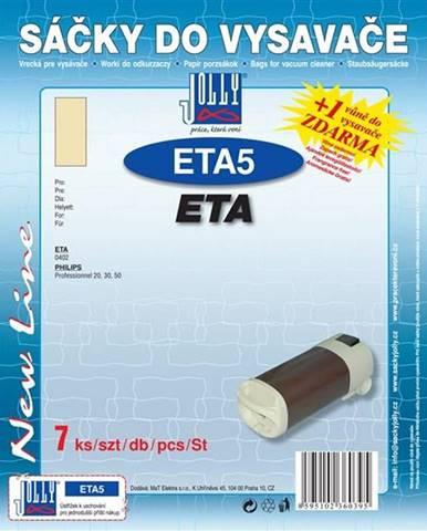 Sáčky pre vysávače Jolly ETA 5