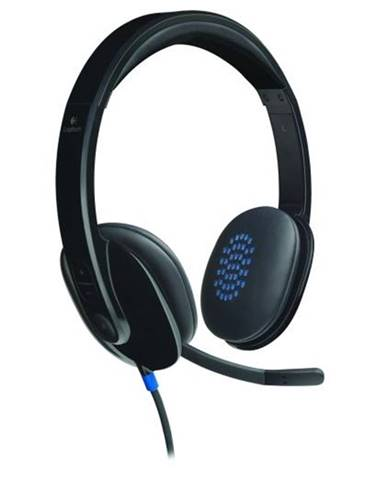Headset  Logitech H540 USB čierny