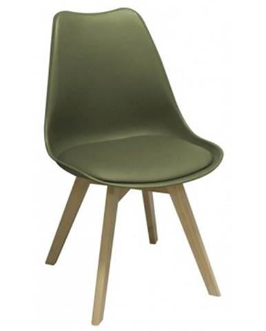 Jedálenská stolička Larsson, zelená%