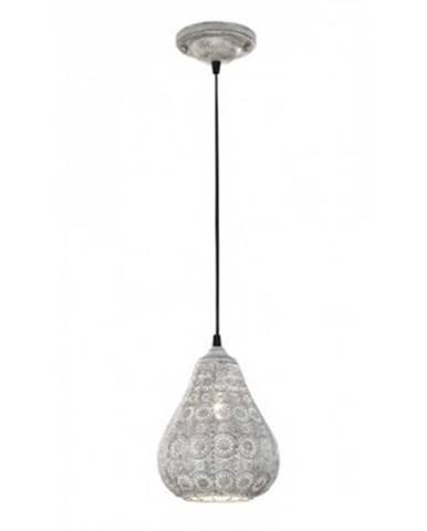 Stropná lampa Jasmin 303700161, šedá antik%