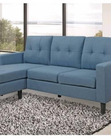 Univerzálna sedacia súprava / pohovka Halmstad, modrá tkanina%