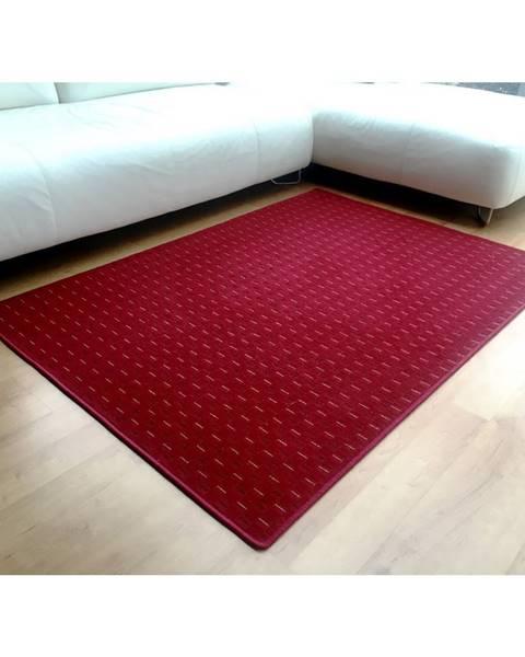 Bellatex Vopi Kusový koberec Valencia červená, 60 x 110 cm