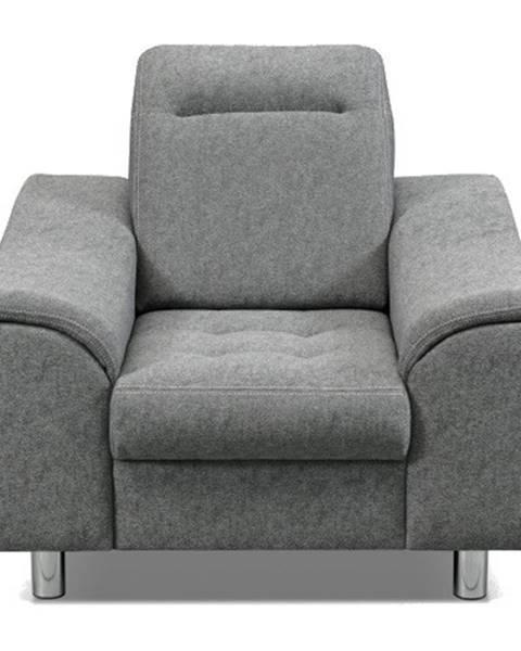 OKAY nábytok Moderné kreslo Columbia sivá