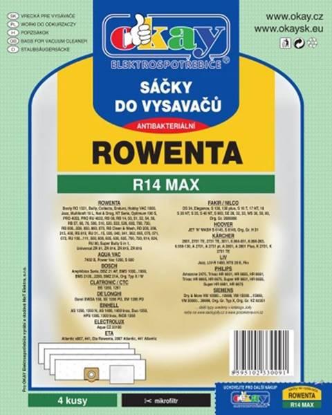 Jolly Vrecká do vysávača Rowenta R14 MAX, 8ks