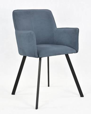 Jedálenská stolička Vian sivá